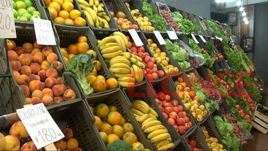 Observatorio de Frutas y Verduras: La canasta de abril llegó a los 565 pesos